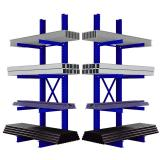 Metal Adjustable Heavy Duty Storage Warehouse Rack Shelving